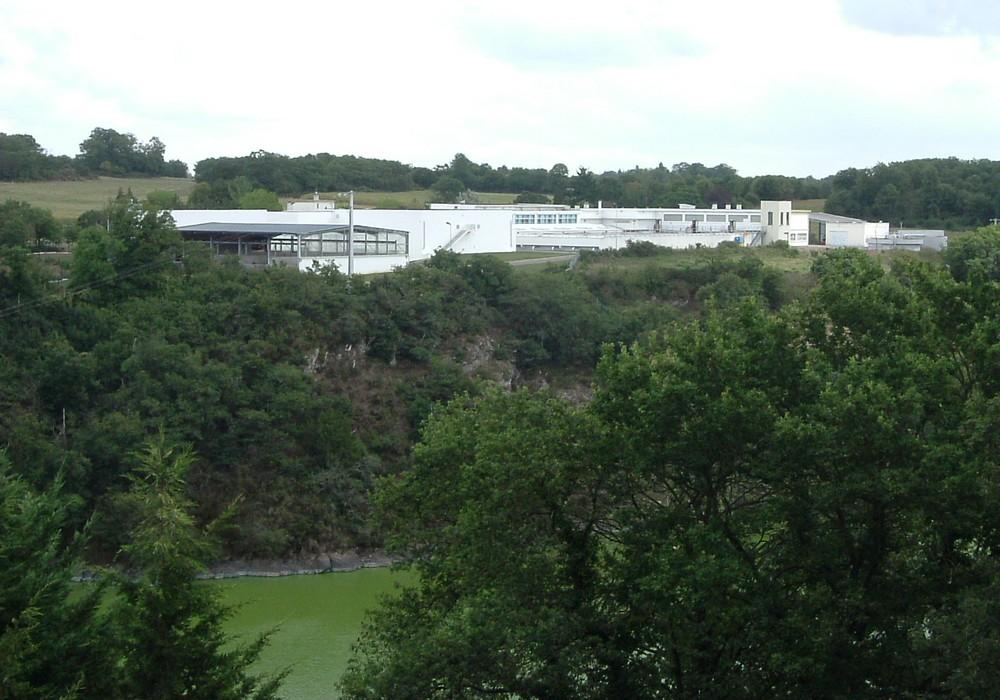 L'usine de traitement de Rophémel