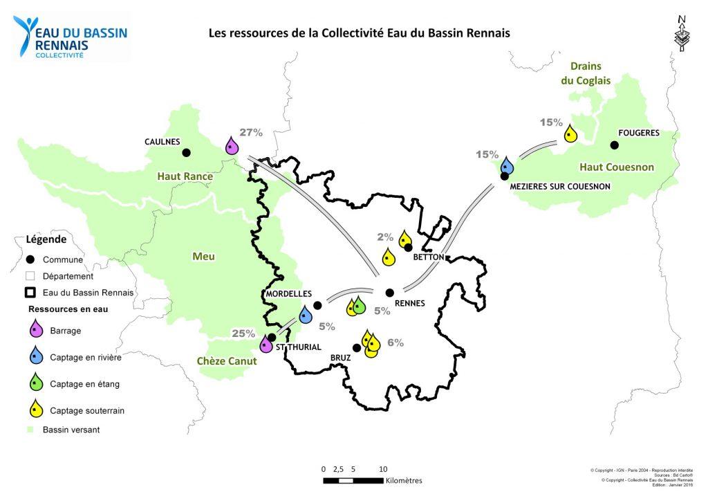 Présentation des ressources de la Collectivité Eau du Bassin Rennais