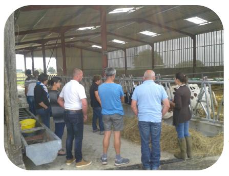 Les groupes de travail avec les agriculteurs