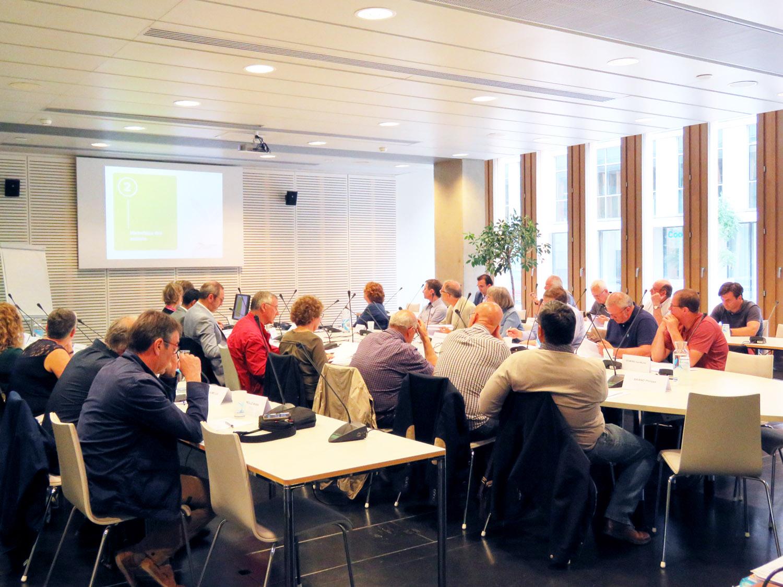 Le comité syndical, l'assemblée délibérante d'Eau du Bassin Rennais