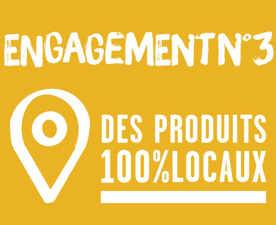 Des produits 100% locaux