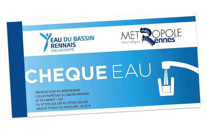 Le chèque eau, une aide pour les bénéficiaires de la CMU-C gérée par la CPAM d'Ille-et-Vilaine